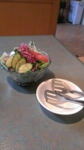 焼肉やまき・サラダ
