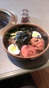 焼肉やまき・冷麺