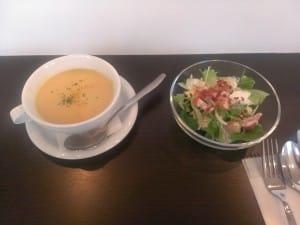 ちょこっとカフェサラダ&スープ