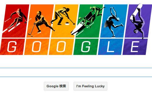ソチ五輪google