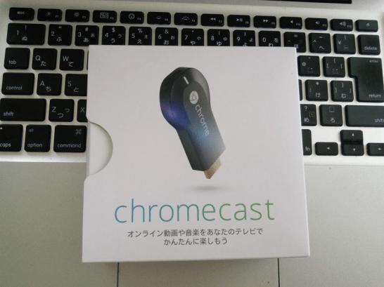 Chromecast正面